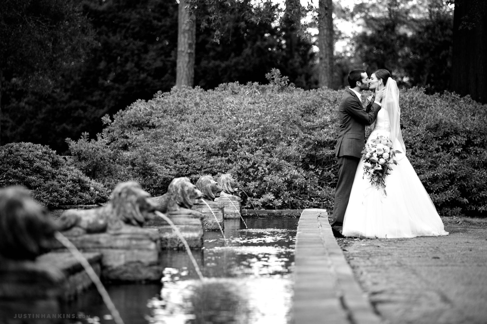 Norfolk Botanical Garden Half Moone Wedding Photos Justin Hankins