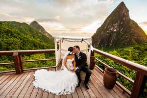 Ladera St Lucia Wedding