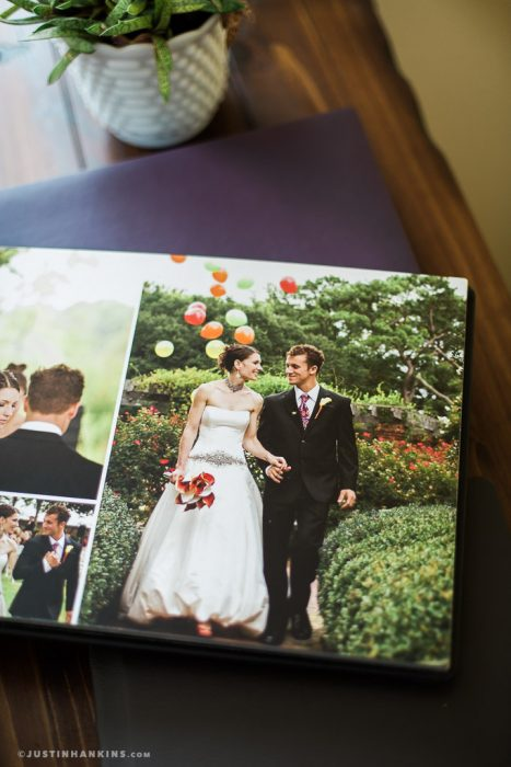 Flush Mount Wedding Album Samples
