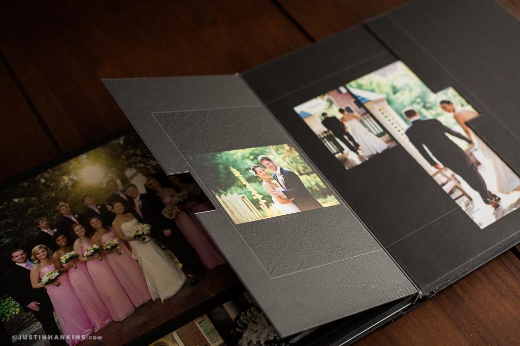 Fine Art Wedding Album Justin Hankins Photography