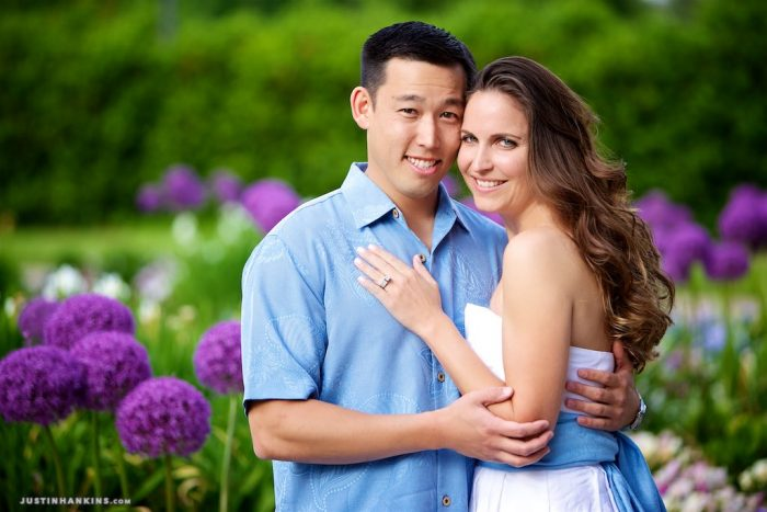 spring-engagement-photos
