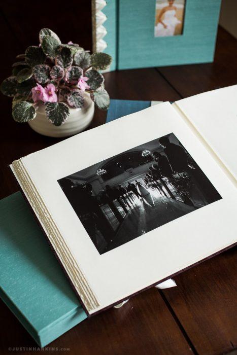 Classic Linen Matted Wedding Album