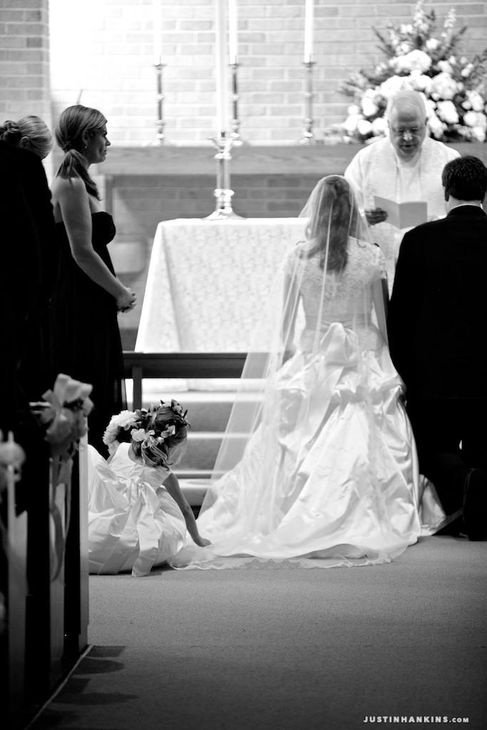 Princess Anne Country Club Wedding Photos - Justin Hankins