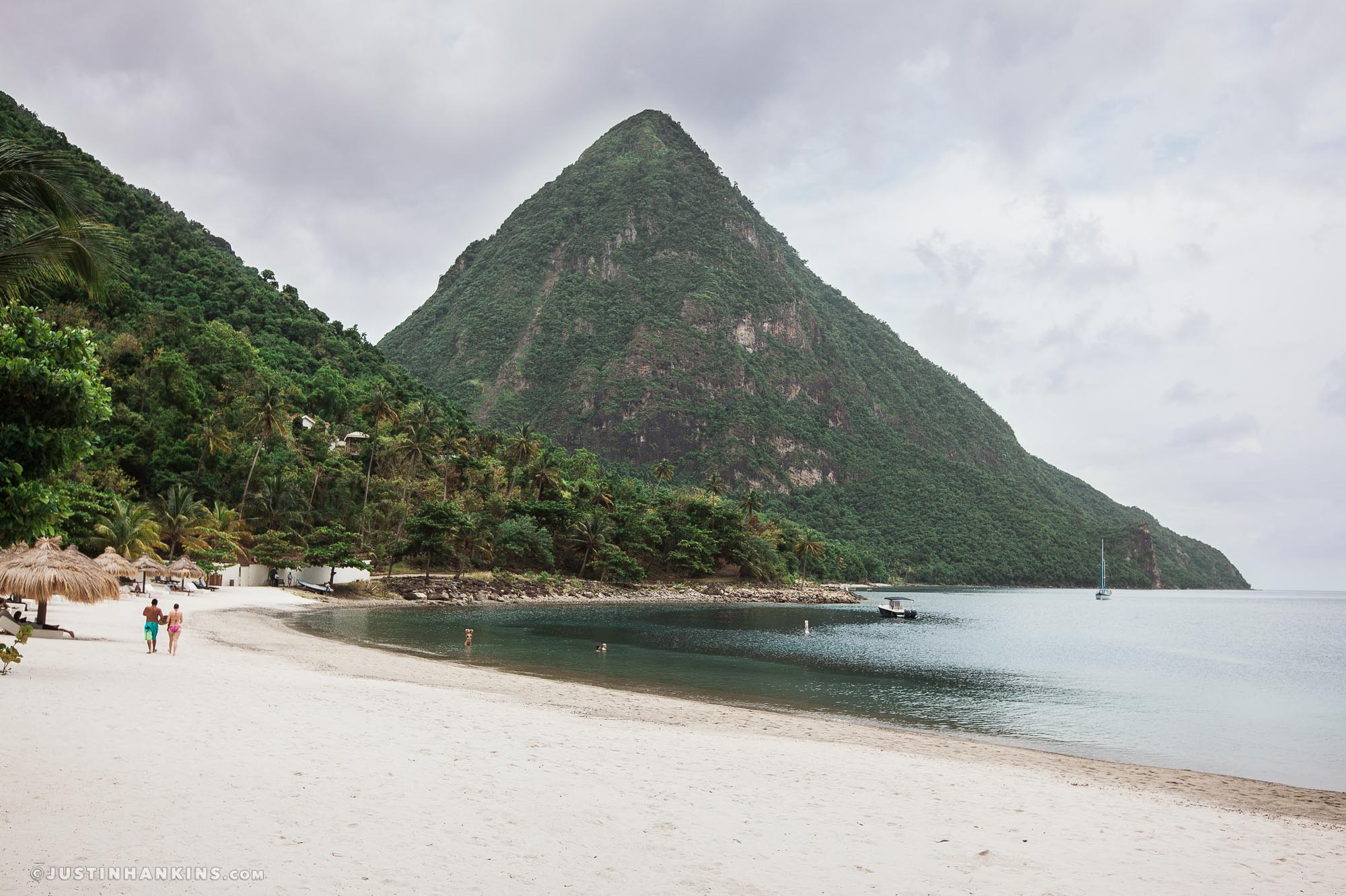 Sugar Beach Day After Wedding Photos In St Lucia Justin Hankins Photography
