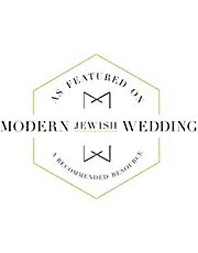Modern Jewish Wedding Photography by Justin Hankins