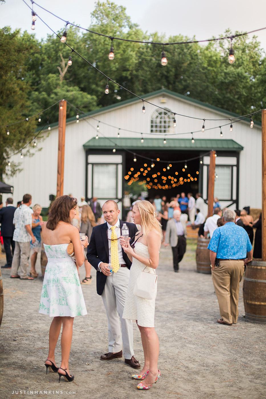 Rustic Chic Barn Wedding in Pungo, Virginia Beach ...