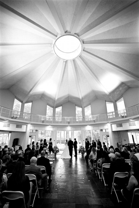 Norfolk Botanical Garden Rotunda - Hurricane Wedding