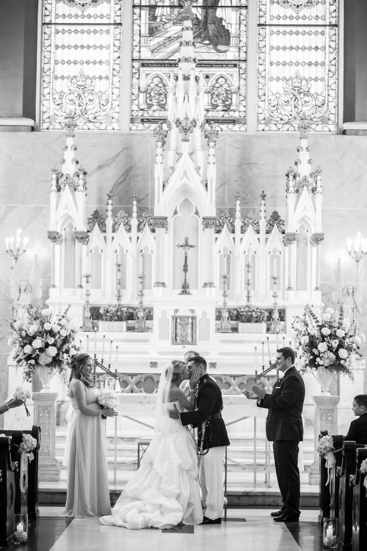 St. Theresa of Avila Church Wedding - New Orleans