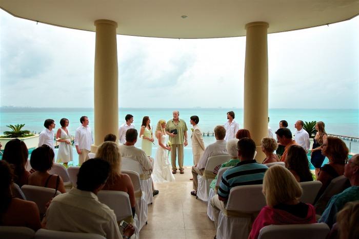 Vista de la Luz Wedding - Isla Mujeres