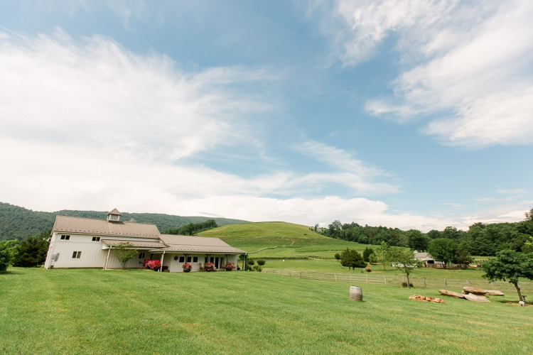 Farmhouse at Veritas Barn Wedding