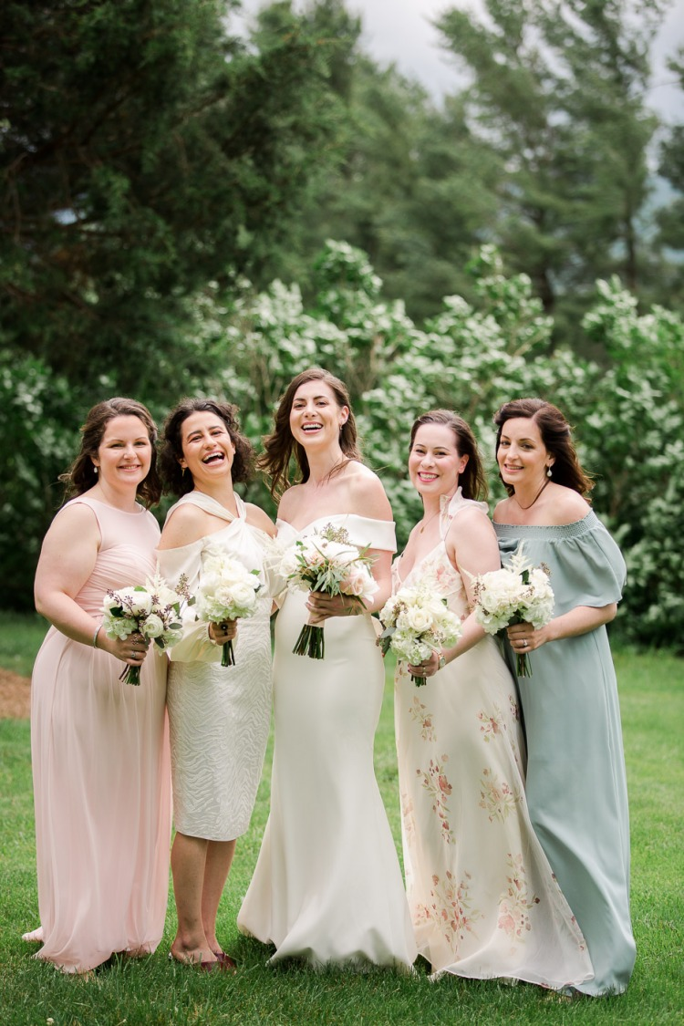 Bridal Party Photos at Veritas Vineyard and Winery