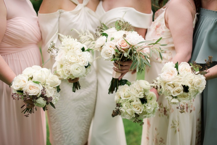 Hedge Fine Blooms Wedding Bouquets by Karen Walker