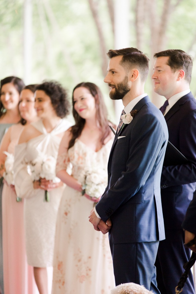 Veritas Vineyard Wedding Processional