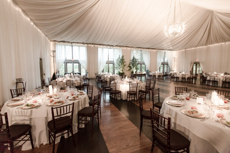 Veritas Vineyard & Winery Wedding Reception Space
