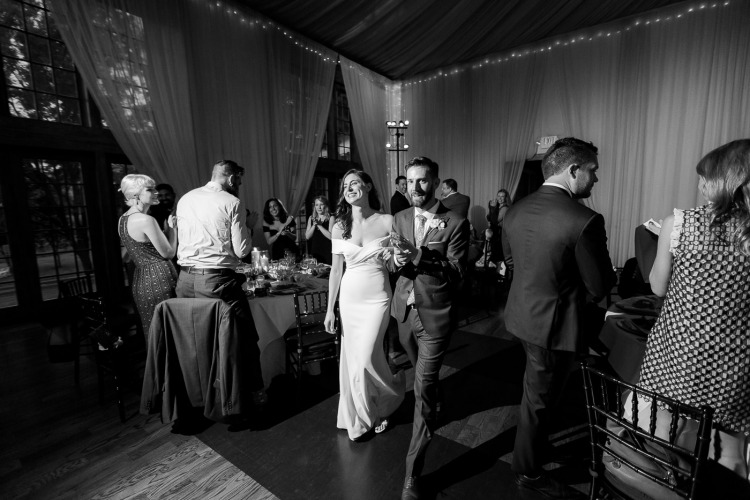 Veritas Vineyard & Winery Wedding Reception