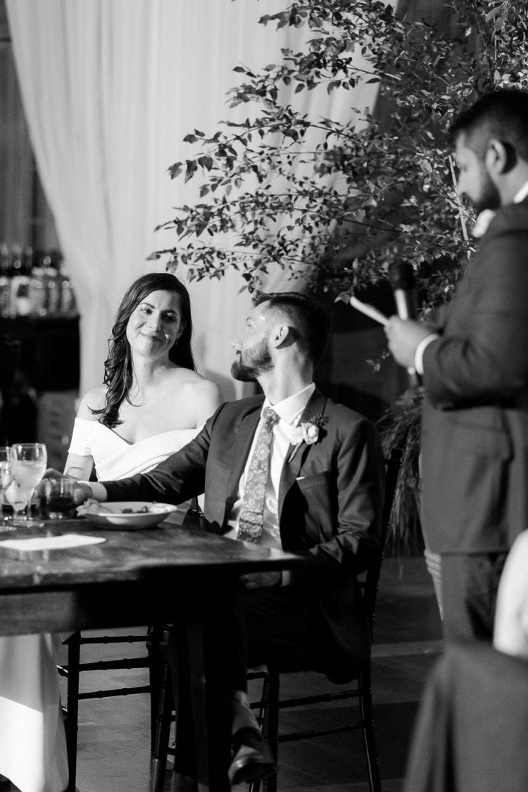 Veritas Vineyard & Winery Wedding Toasts